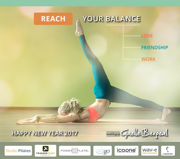Reach your balance in 2017